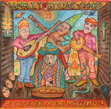 Harley String Band Playing for Maximon